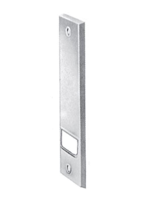 Kunststoff-Abdeckplatte weiß, Lochabstand 104 mm für Einlass-Gurtwickler