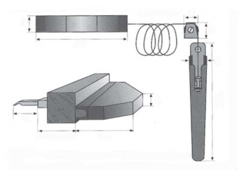 Rollladensicherung RS 77 Montage auf dem Blendrahmen Farbe Weiß