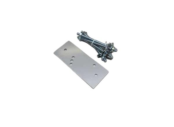 Montageplatte für Dachsparrenhalter Aluminium für Lewens Family Serie