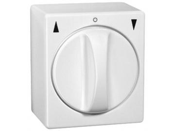 WTS - Standard Knebel-Schalter für trockene Räume Auswahl als Taster oder Schalter
